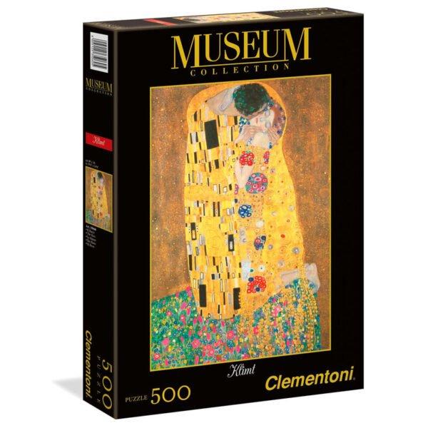 Puzzle El Beso Klimt Museum Collection 1000pzs