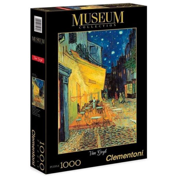 Puzzle Terraza de Cafe por la Noche Van Gogh Museum Collection 1000pzs