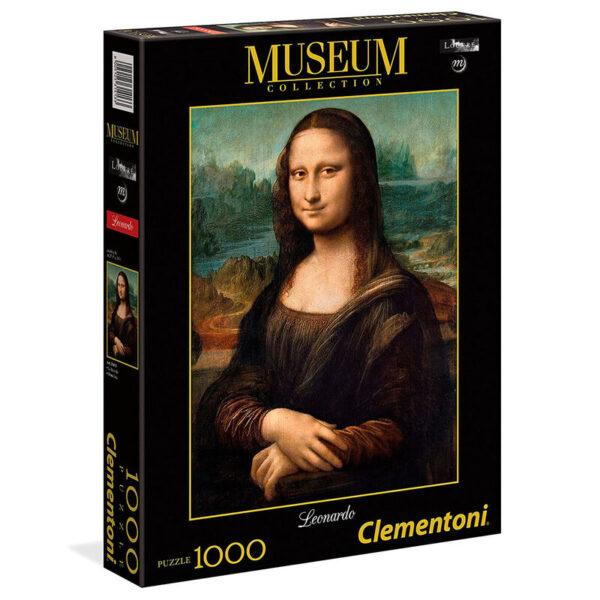 Puzzle Mona Lisa Leonardo Museo Louvre 1000pzs