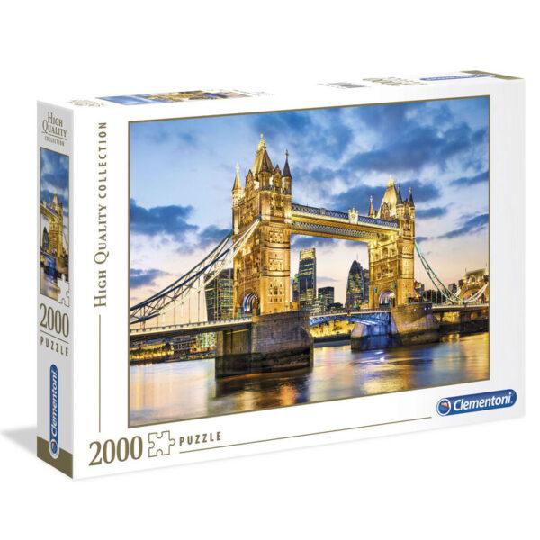 Puzzle High Quality Tower Bridge at Dusk 2000pzs