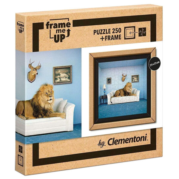 Puzzle The Master of the House Frame Me Up 250pzs