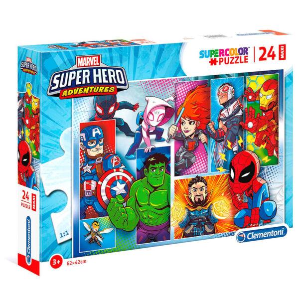 Puzzle Maxi Superhero Marvel 24pzs