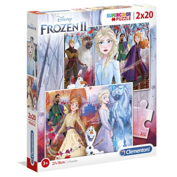 Puzzle Maxi Frozen Disney 2 2x20pzs