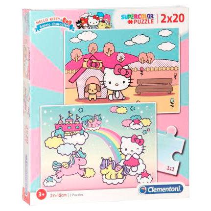 Puzzle Maxi Hello Kitty 2x20pzs