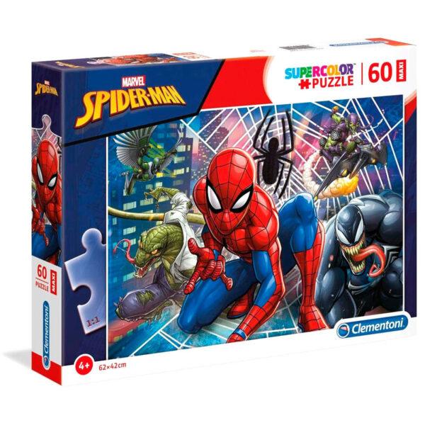 Puzzle Maxi Spiderman Marvel 60pzs