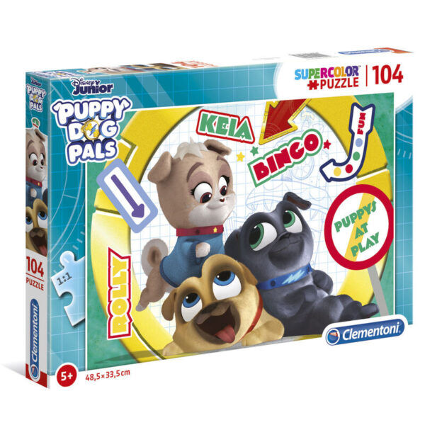 Puzzle Puppy Dog Pals 104pzs