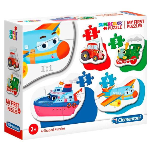 Puzzle My First Puzzle Means of Transport 3-6-9-12pzs
