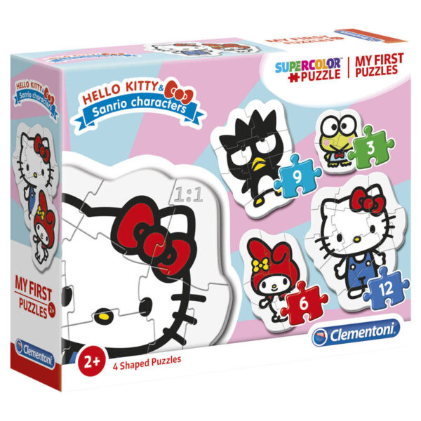 Puzzle My First Puzzle Hello Kitty 3-6-9-12pzs