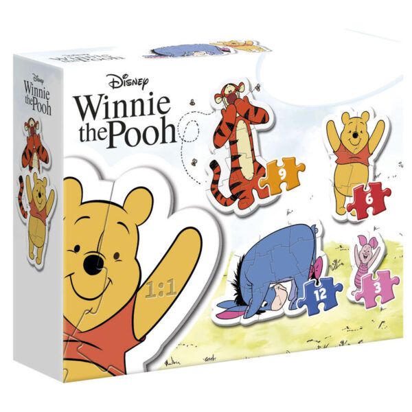 Puzzle My First Puzzle Winnie the Pooh Disney 3-6-9-12pzs