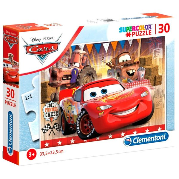 Puzzle Cars Disney 30pzs