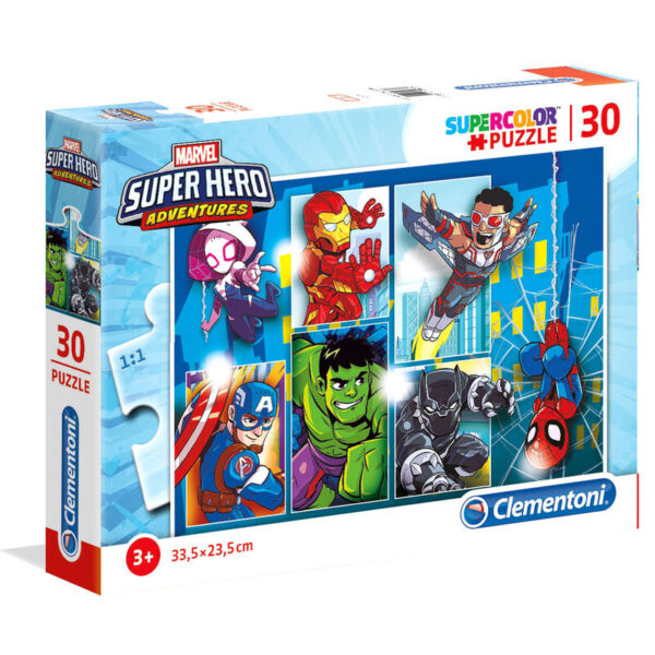 Puzzle Superhero Marvel 30pzs