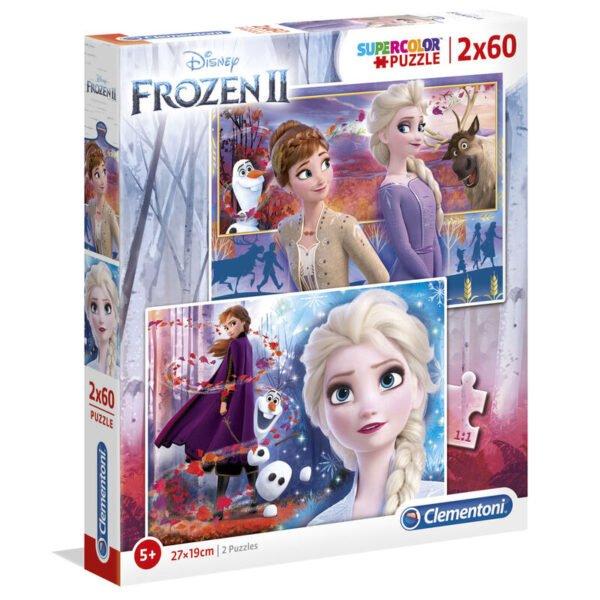 Puzzle Maxi Frozen 2 Disney 2x60pzs