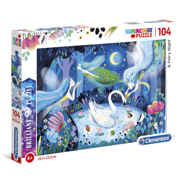 Puzzle Brilliant Fairy Night 104pzs