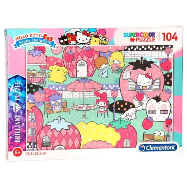 Puzzle Brilliant Hello Kitty 104pzs