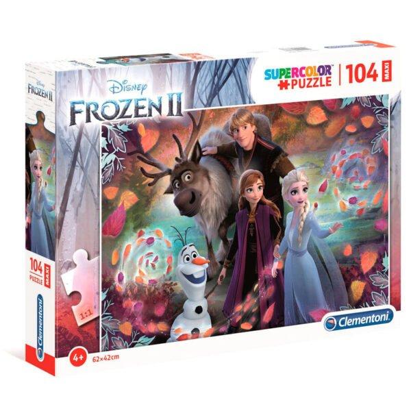 Puzzle Maxi Frozen 2 Disney 104pzs