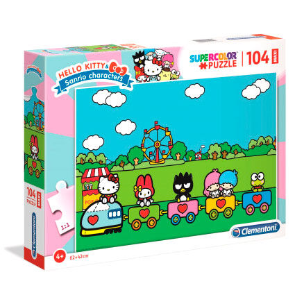 Puzzle Maxi Hello Kitty 104pzs