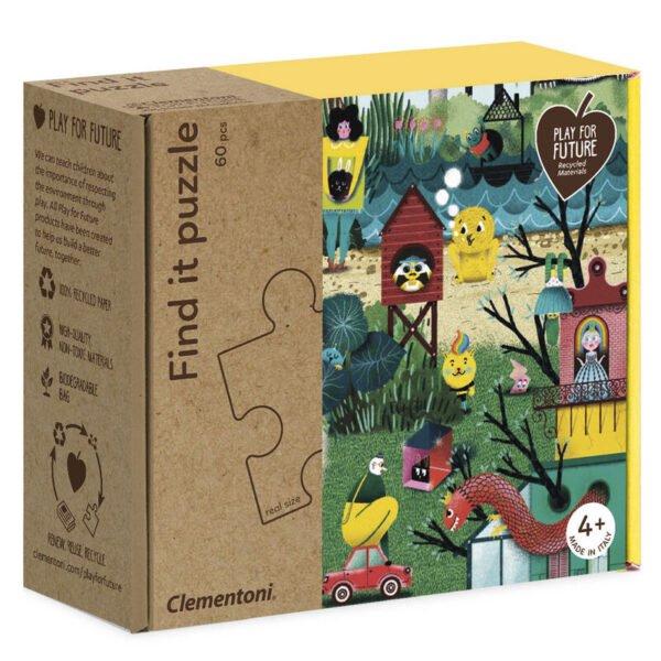 Puzzle Encuentra Mi jardin 60pzs