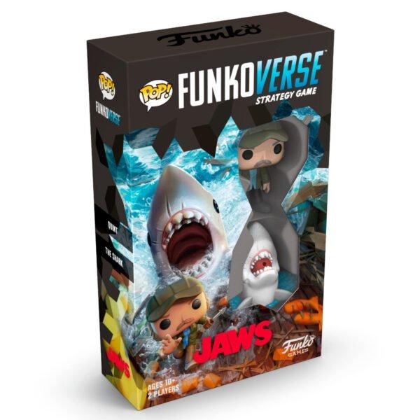 Juego mesa Funkoverse Tiburón · 2 figuras · Inglés