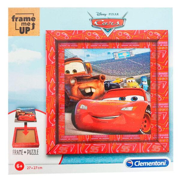 Puzzle Cars Disney Frame Me Up 60pzs