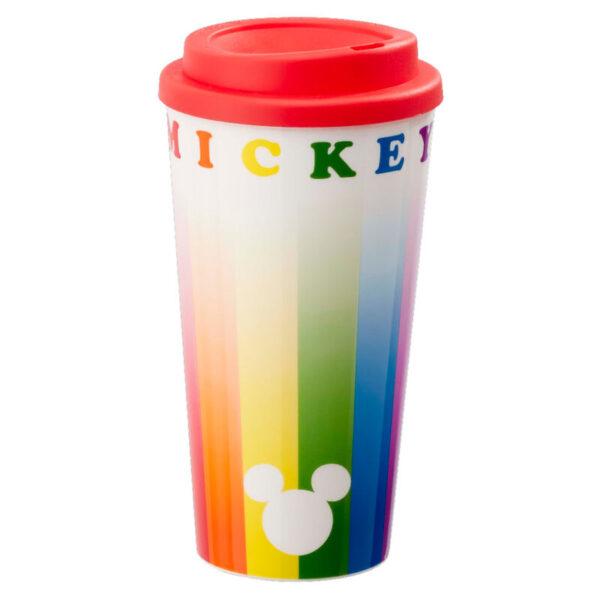 Taza viaje Mickey Rainbow Disney