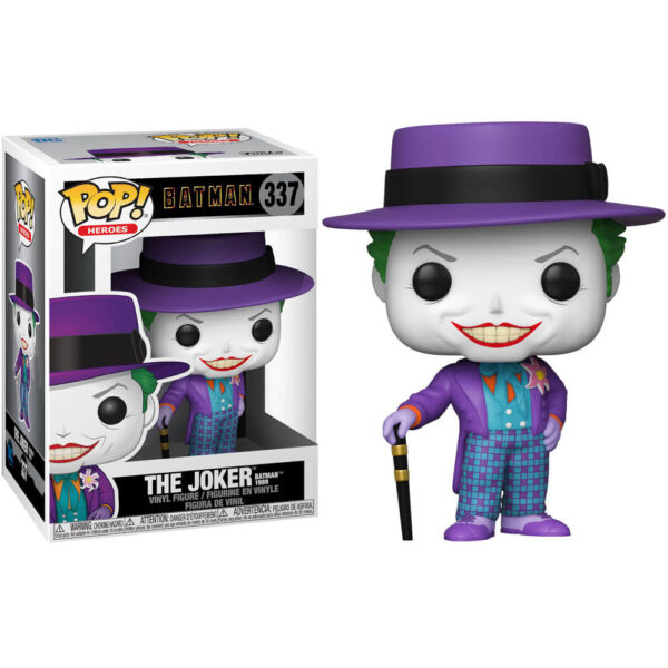 Funko POP! DC Comics Batman 1989 Joker with Hat