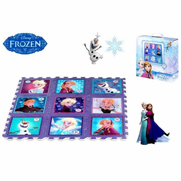 Alfombra puzzle EVA Frozen Disney