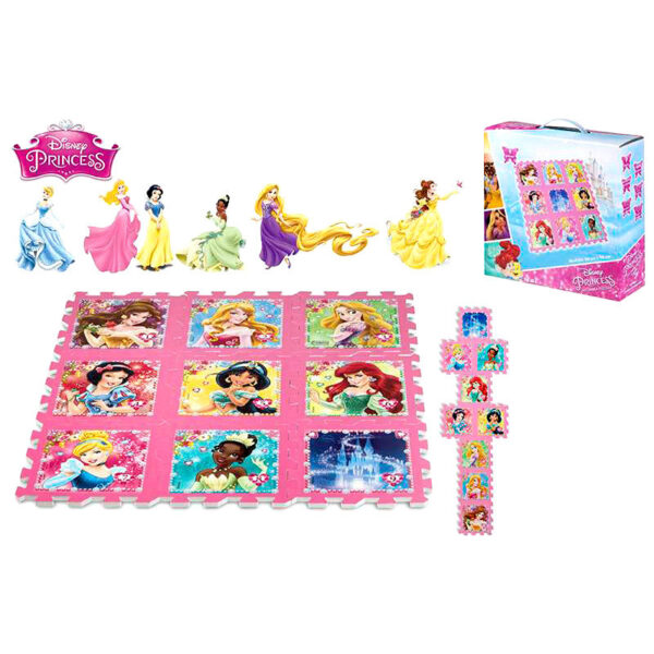 Alfombra puzzle EVA Princesas Disney