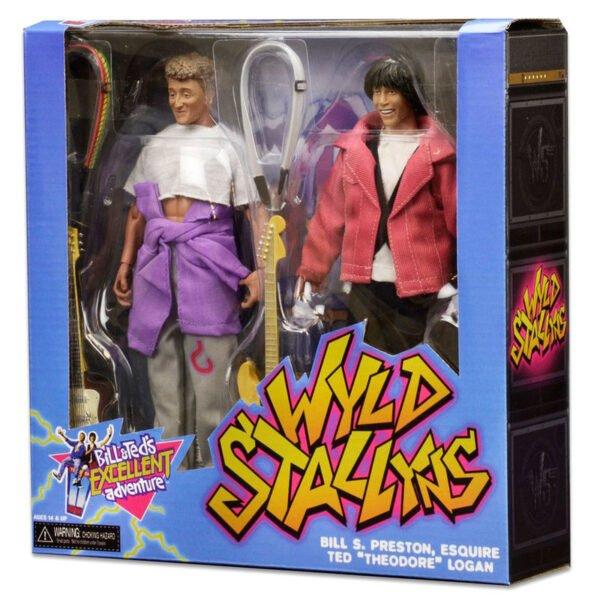 Pack 2 figuras articuladas Wyld Stallyns Bill and Teds Excellent Adventure 20cm