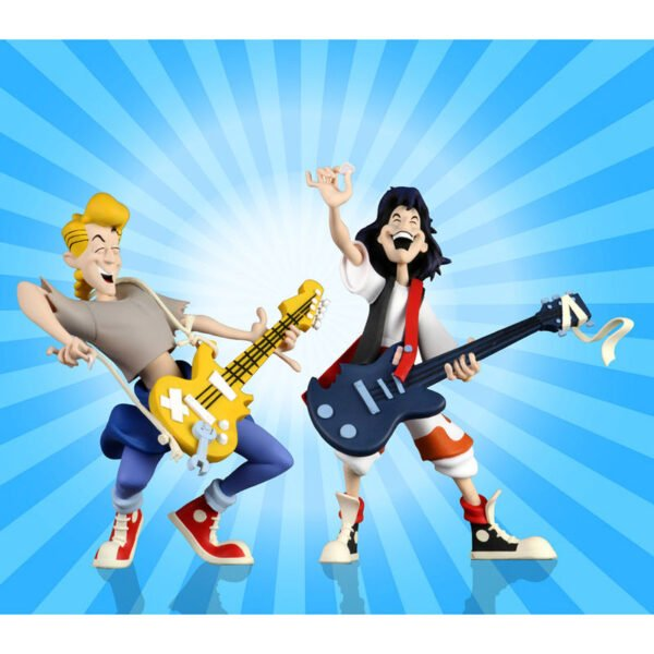 Pack de 2 s Toony Classics Bill and Ted Las Alucinantes Aventuras de Bill and Ted 15cm