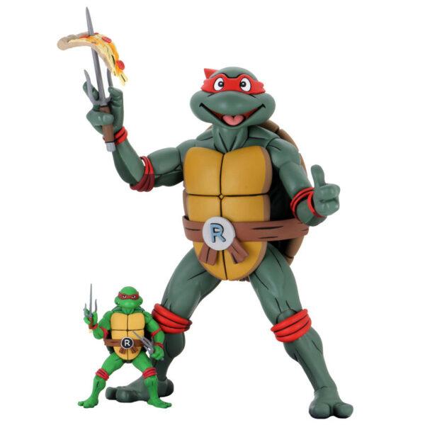 Figura articulada Raphael Tortugas Ninja 41cm