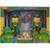 Pack 2 figuras articuladas Leonardo & Donatello Tortugas Ninja 18cm
