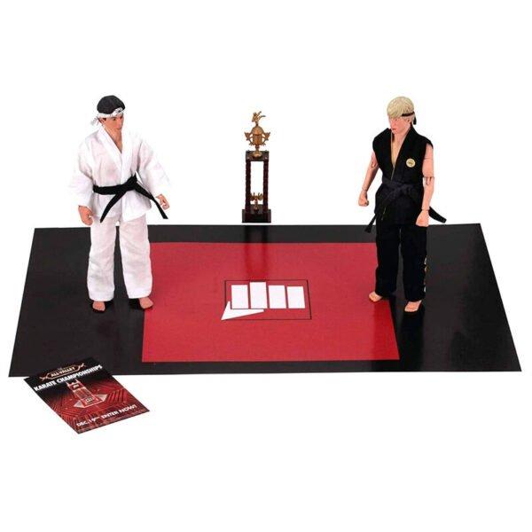 Pack 2 figuras Daniel y Jonny Karate Kid 20cm