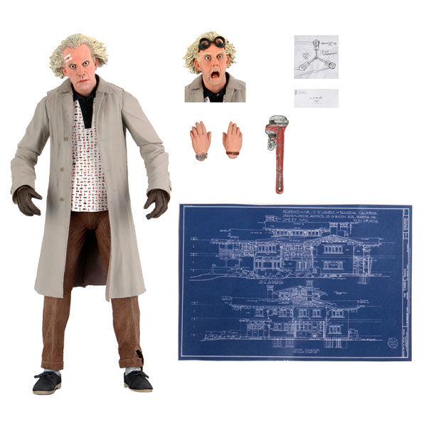 Ultimate Doc Brown Regreso al Futuro 18cm