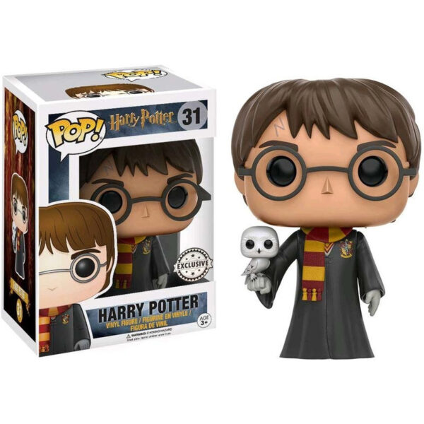 Funko POP Harry Potter Harry with Hedwig Exclusivo