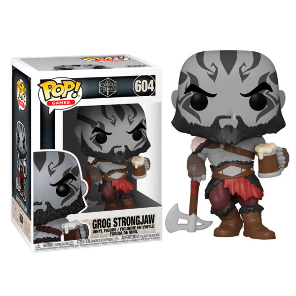 Funko POP Critical Role Vox Machina Grog Strongjaw