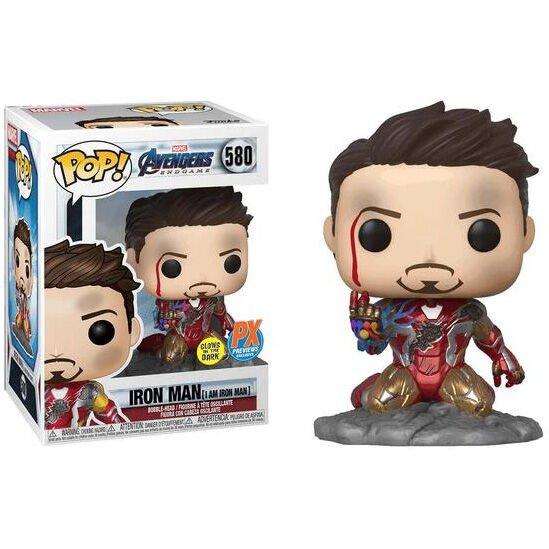 Funko POP Marvel Vengadores Endgame I Am Iron Man Exclusivo