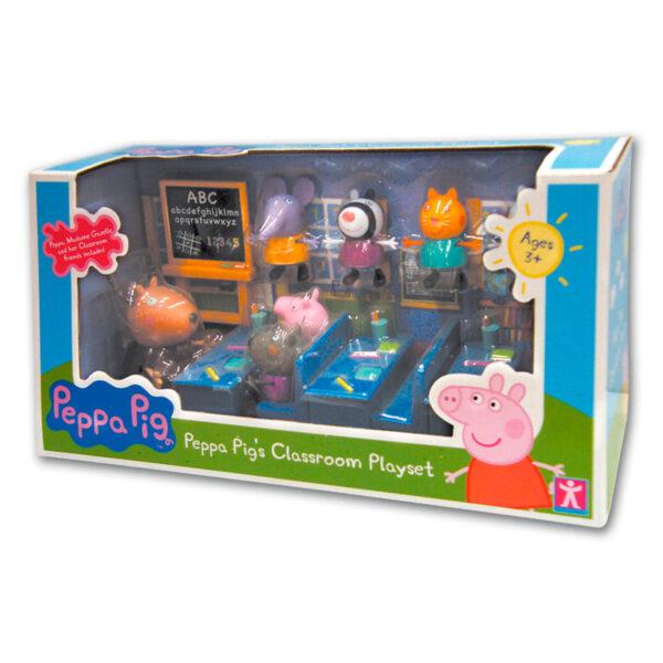 Playset Vamos al Cole Peppa Pig