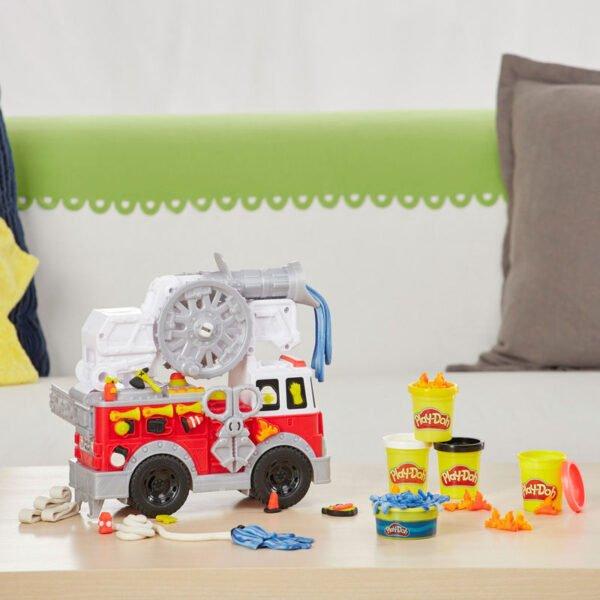 Camion de Bomberos Wheels Play-Doh