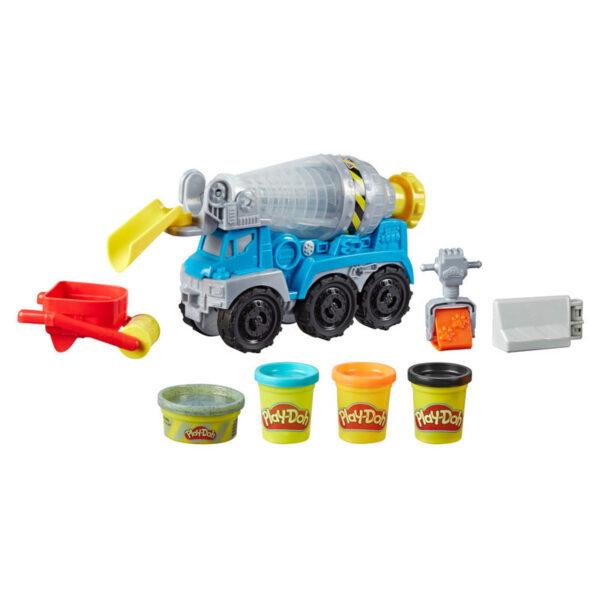 Camion de Cemento Wheels Play-Doh