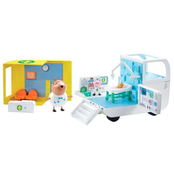 Ambulancia y Centro Medico Peppa Pig