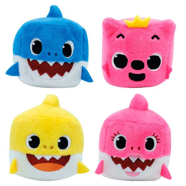 Cubo peluche musical Baby Shark (surtido)
