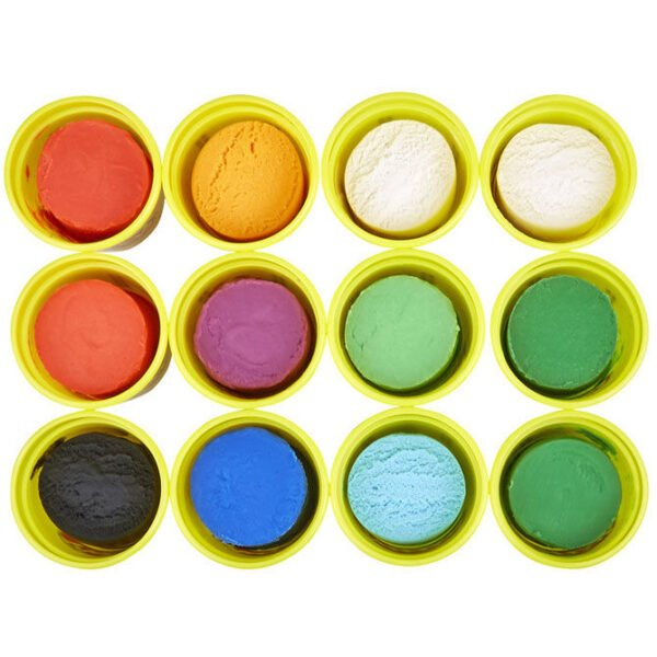 Pack 12 botes colores frios de Play-Doh
