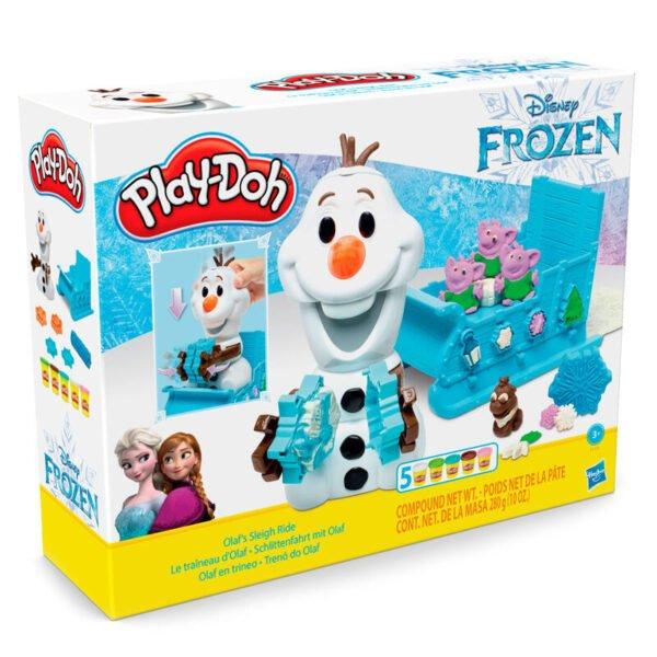 Olaf en Trineo Frozen Disney Play-Doh