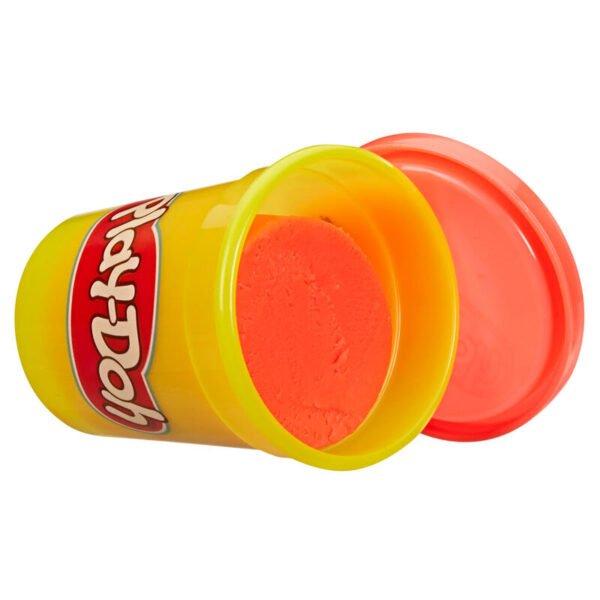 Pack 12 botes Play-Doh Rojo