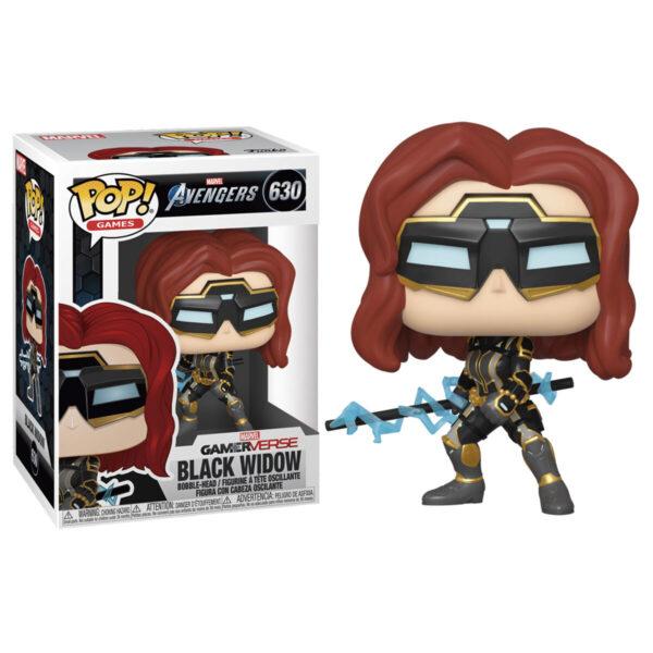 Funko POP! Marvel Avengers Game Black Widow Stark Tech Suit