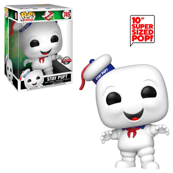 Funko POP Ghostbusters Stay Puft Exclusivo 25cm