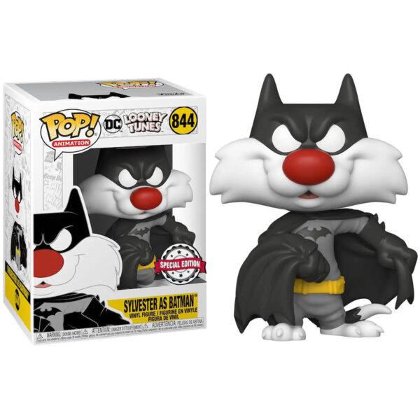 Funko POP Looney Tunes Sylvester as Batman Exclusivo