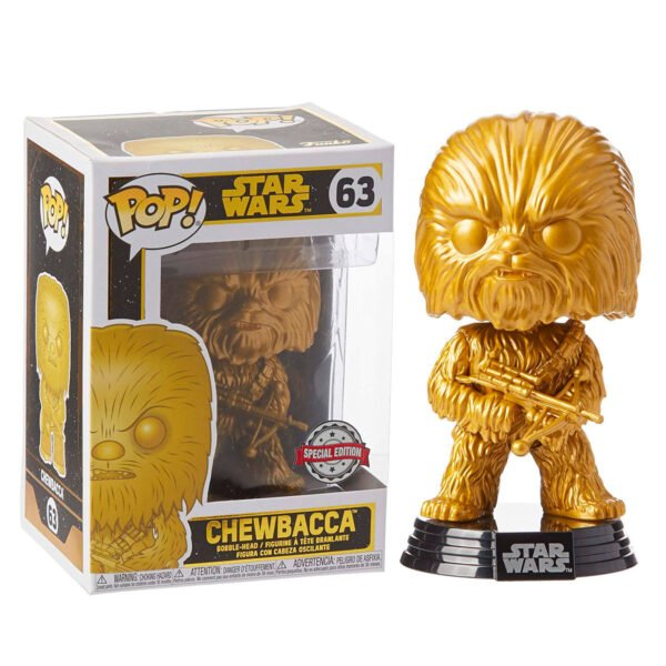 Funko POP Star Wars Chewbacca Exclusivo