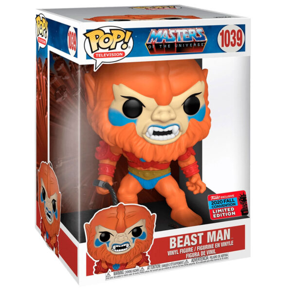 Funko POP Masters of the Universe Beast Man Exclusivo 25cm
