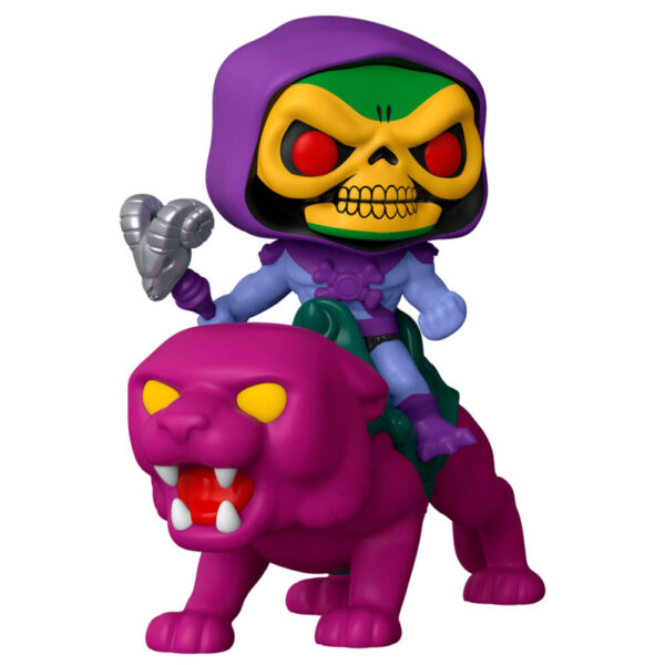 Funko POP Masters of the Universe Skeletor on Panthor